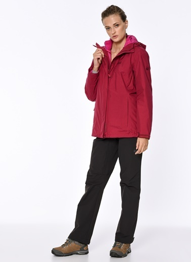 Jack Wolfskin Iceland 3İn1 Kadın Ceket - 1105733-2501 Renkli